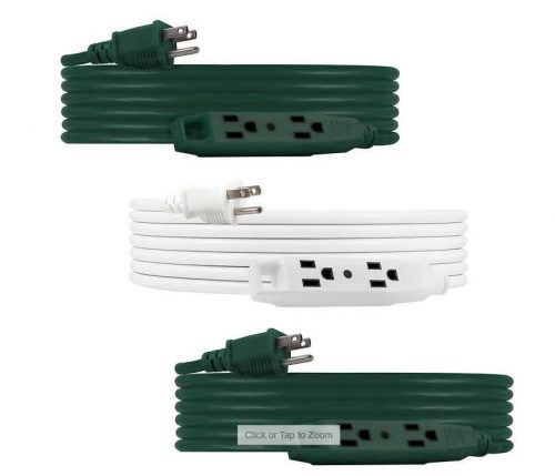 Jansco Outdoor Extension Cord 3 Pack