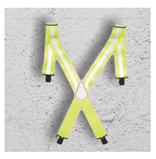A&A Workgear Heavy Duty Suspenders Reflective Straps