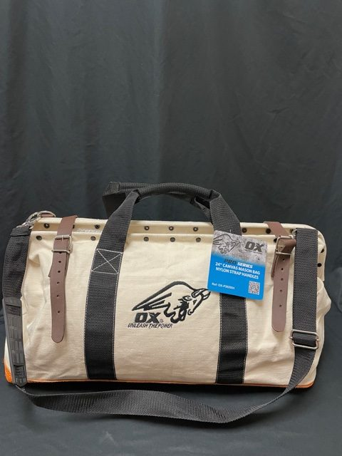 OX Canvas Tool Bag - Front View