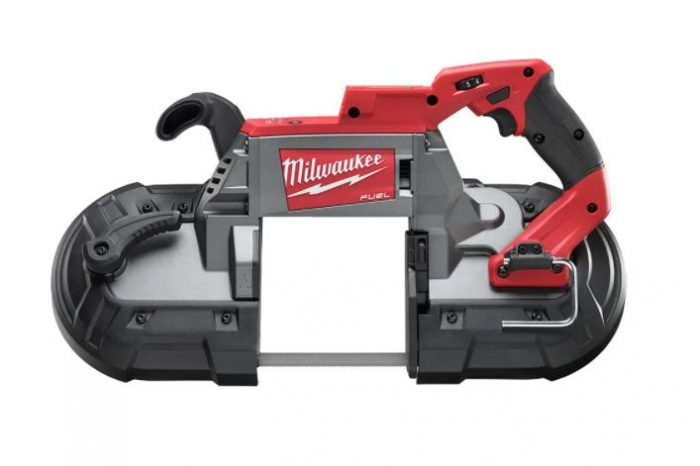 Milwaukee Deep cut variable speed band saw Front