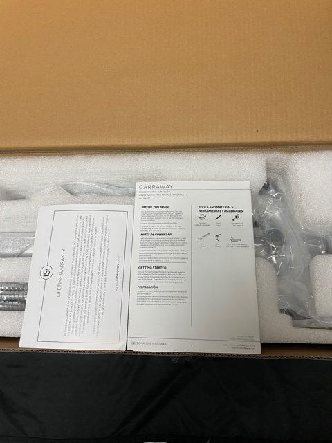 Signature Hardware SHCRFS2000 Carraway Floor Mounted Tub Filler